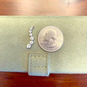 Journey necklace, diamonds.